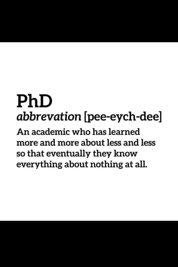 What Does Phd Stand For Funny : stand, funny, Mean?, Quora