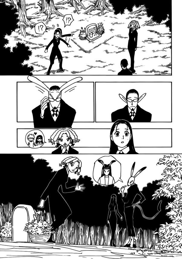 Hxh Gotoh : gotoh, Hunter, Hunter,, Gotoh, Really, Killed, Hisoka?, Quora