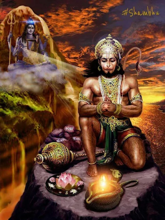 Shiv Shankar Hd Wallpaper What Are Some Epic Photos Of Hanuman Quora