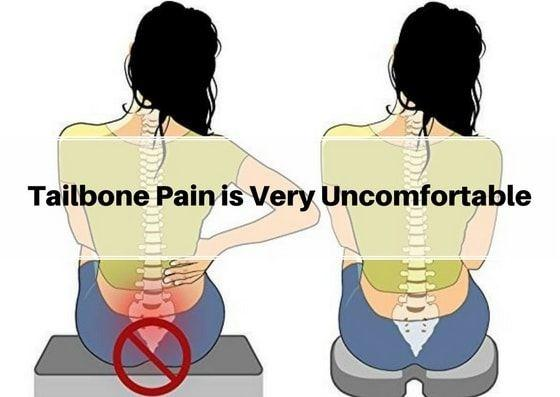 How to treat my severe tailbone pain which I have been