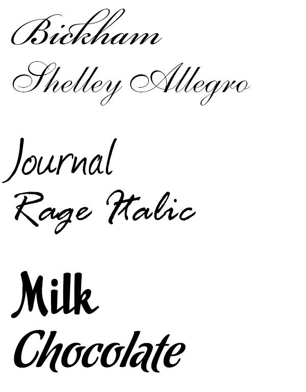 Are fonts created with specific moods or do we determine