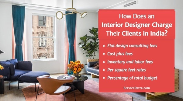 How Does An Interior Designer Charge Their Clients? Do They Charge