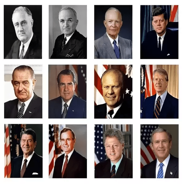 Who were the last 10 American presidents? - Quora