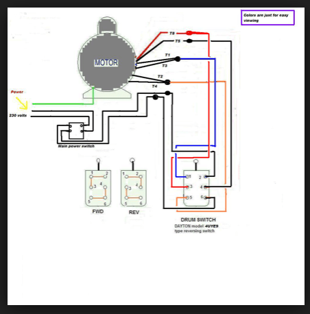 Century Pool Pump Motor Wiring Diagrams How Can We Switch A Single Phase Motor Forward Reverse