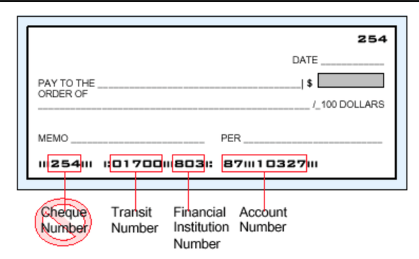 How to find your bank account number on a check - Quora