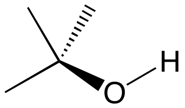 What is the molecular geometry of [math]CH_3-OH[/math