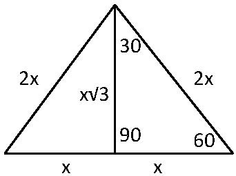 60 Degree Angle Triangle