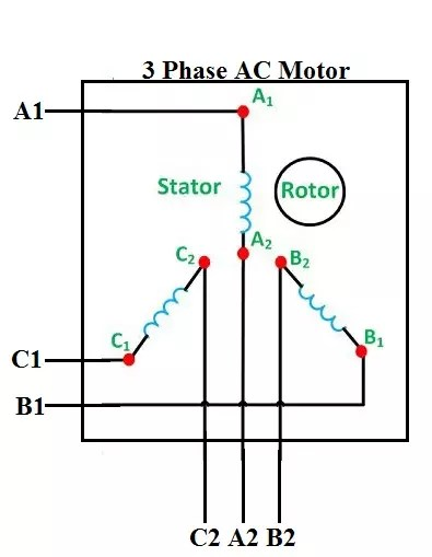 3 phase star delta motor wiring diagram symbols how to connect motors in and connection quora for