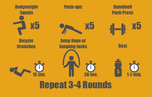 Pull Up Circuit