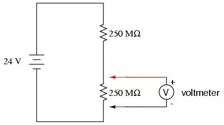 digital ac ammeter circuit diagram tree template free how is the voltmeter and connected in a quora but since may well be affected by capacitor source noise of test probe lead special probes required to isolate measurement