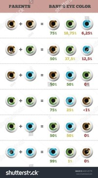 How can blue and brown-eyed parents create a green-eyed ...