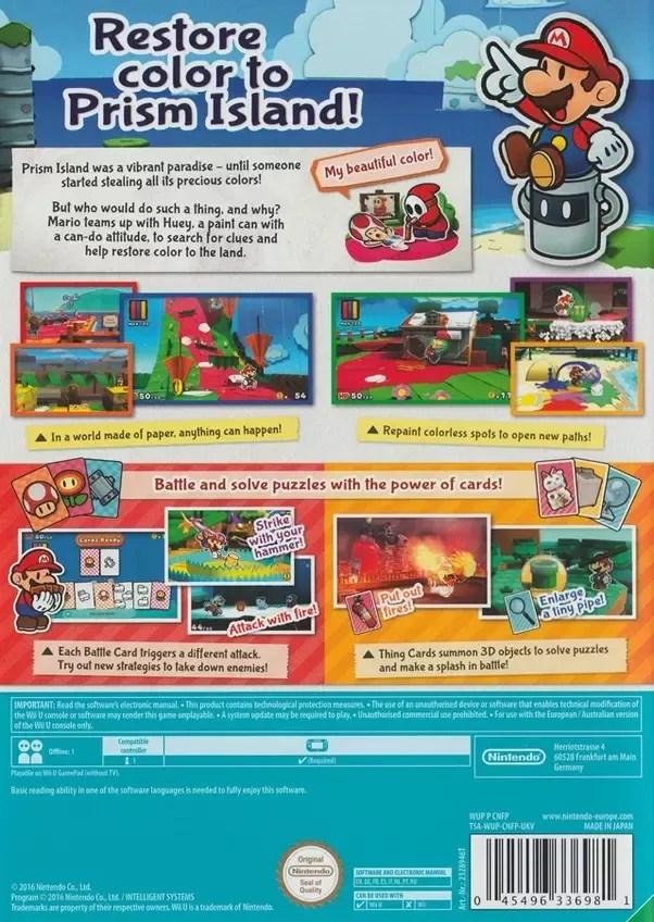 Paper Mario Color Splash Map : paper, mario, color, splash, Paper, Mario, Color, Splash, Maping, Resources