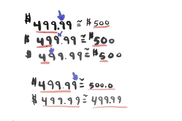 How many significant figures are in this number 500.00