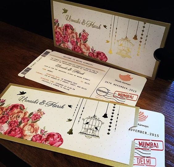 most creative indian wedding cards quora