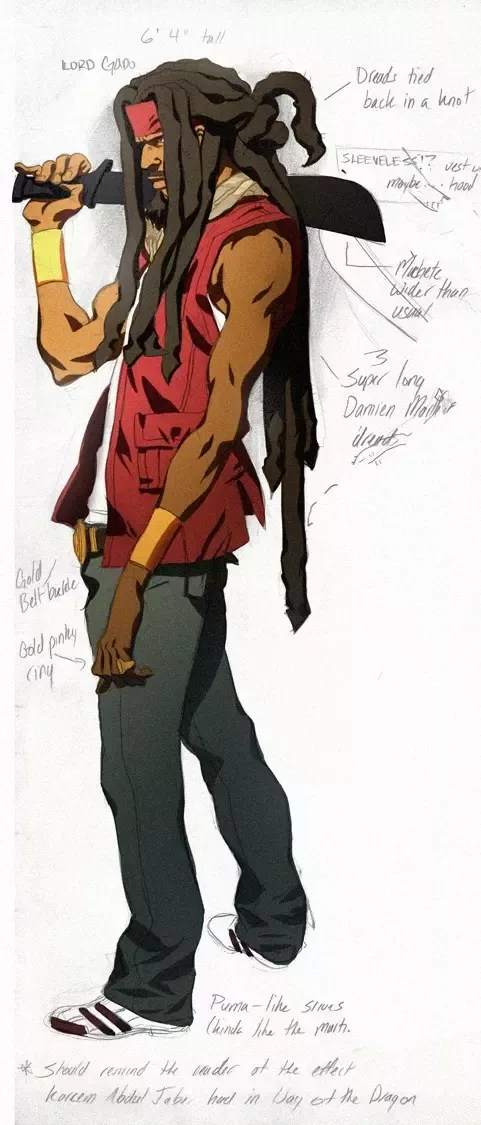 Anime Characters With Dreads : anime, characters, dreads, Female, Black, Anime, Characters, Dreads, Wallpaper