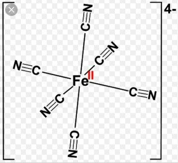 What is the hybridization of the complex ion (e.g. [Fe(CN