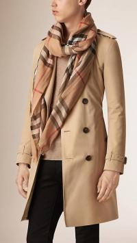 Is it weird for men to wear Burberry scarves? - Quora