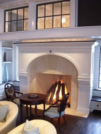 What is the proper fireplace mantel height? - Quora