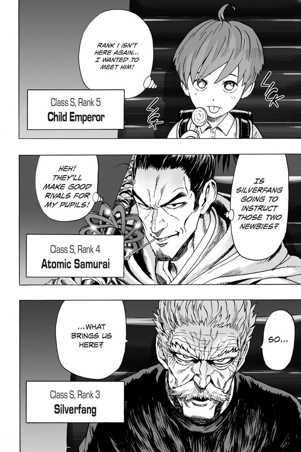 Classement Heros One Punch Man : classement, heros, punch, S-rank, Heroes, One-Punch, Anime?, Quora