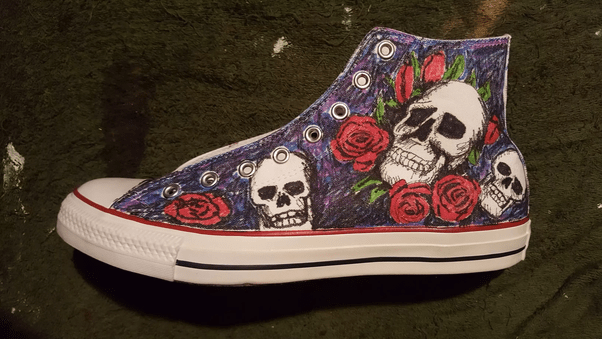 Can you paint shoes with acrylic paint  Quora