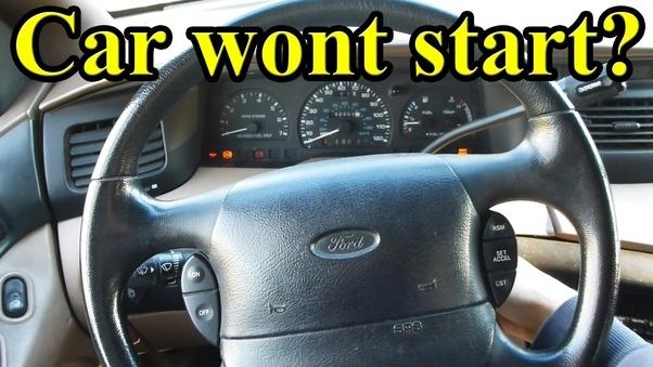 Car Wont Start Clicking Noise Lights Work