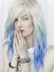 albino people dye hair
