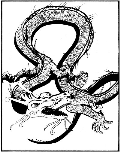 Why are Chinese dragons generally portrayed as kinder and