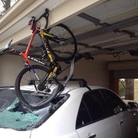 What is a better for vehicle aerodynamics, a bike rack on