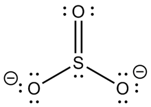 How to draw a lewis structure for SO3(2)  Quora