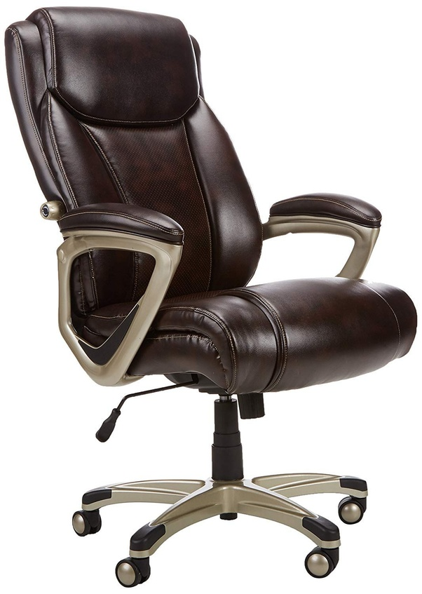 revolving chair base in ahmedabad wing covers what is the best ergonomic office within a 10k budget india amazonbasics high back executive features adjustable settings and curved contours to help keep your supported body properly