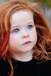 rare red hair