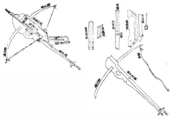 Was a crossbow ever designed to fire multiple bolts in a