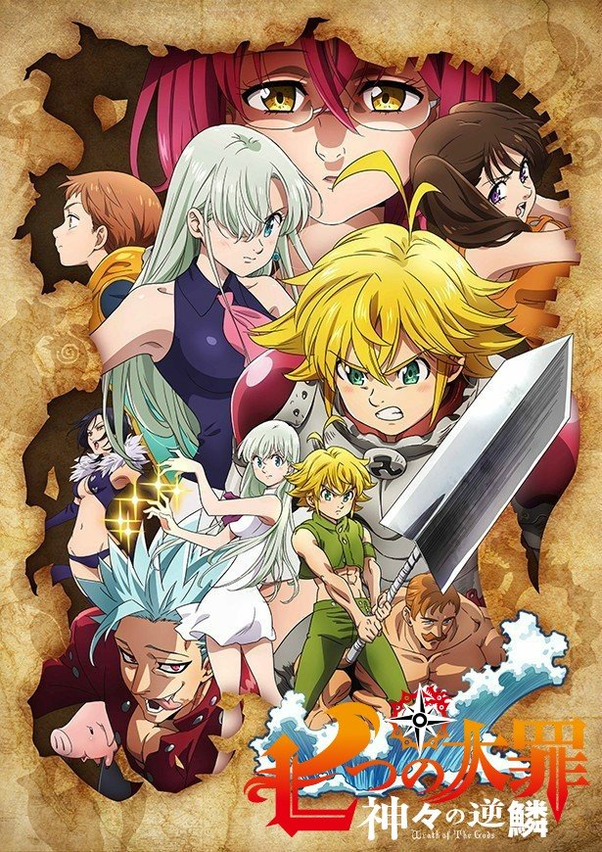 How do I watch in 2020 The Seven Deadly Sins in order