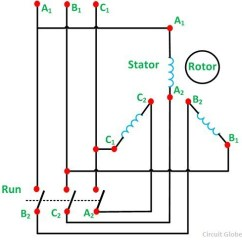 Wye Delta Motor Starter Wiring Diagram Ge Triclad Induction What Is The Proper Star-delta Connection? - Quora
