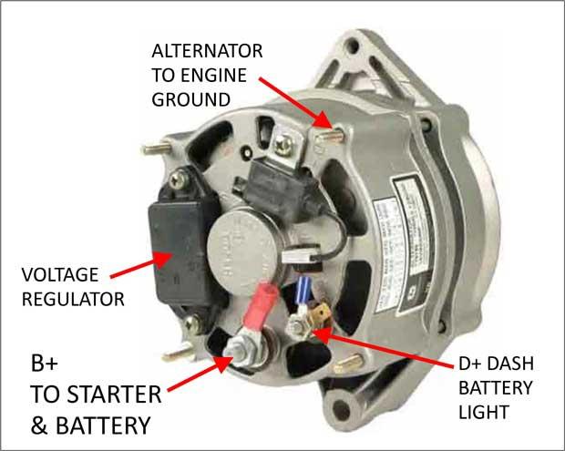 Bosch Marine Alternator Wiring Diagram