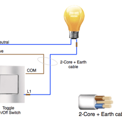 2 Light Switch Wiring Diagram For And How Do Christmas Lights With 3 Wires Work Quora A Wire System Includes Two Live Switched