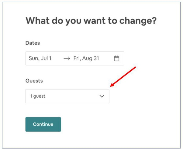 How to add an extra guest for a part of my Airbnb stay - Quora