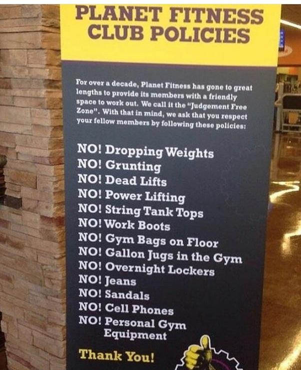 Planet Fitness Clothing Rules : planet, fitness, clothing, rules, اختبار, كآبة, معتاد, Planet, Fitness, Dress, Kevinstead.com