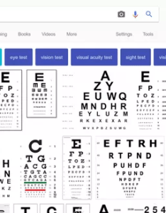 And as you can see the fonts used vary from chart to some charts use what seem be monospace have sans serif also which font is in snellen known eye exam rh quora