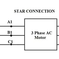 3 Phase Star Delta Motor Wiring Diagram A Gfci Outlet How To Connect Motors In And Connection Quora For