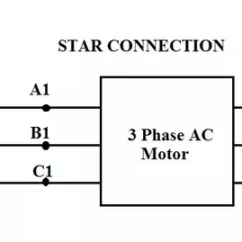 Three Phase Star Delta Starter Wiring Diagram 2006 Club Car Precedent Battery How To Connect 3 Motors In And Connection - Quora
