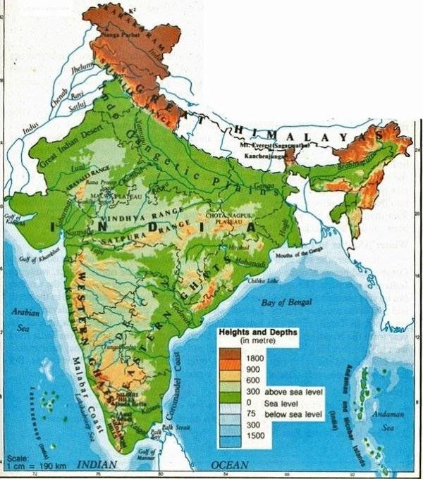 How has the geography of India influenced its history Quora