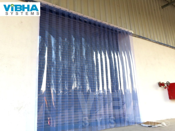 why strip door curtain are used quora