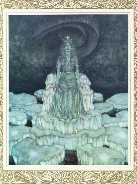 La Reine Des Neiges Conte : reine, neiges, conte, Vient, L'inspiration, Reine, Neiges, Quora