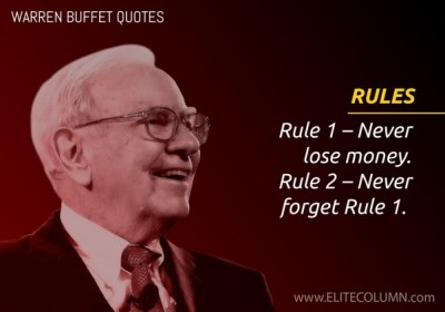 What are some of the Best quotes by Warren Buffett? - Quora