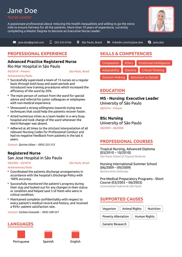 examples of achievements in resumes