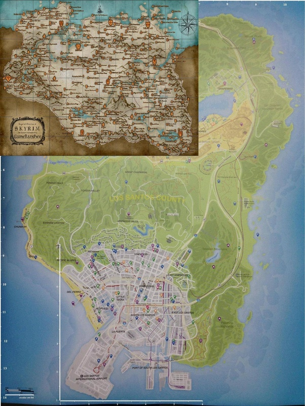 Breath of the Wild's Known Overworld Map Size Estimated at