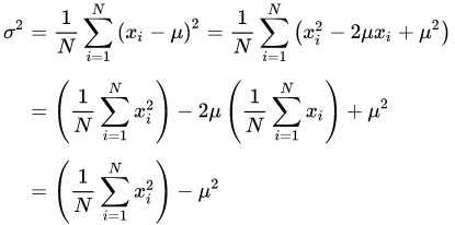 Why do we calculate variance first in order to find out