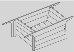 What is the purpose of gauge box in the process of