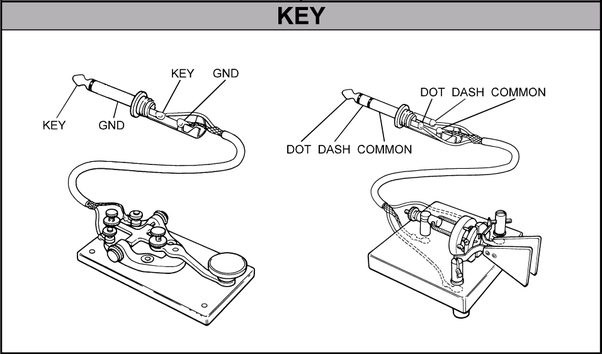 Amateur Radio: How do you convert a two prong Morse key to